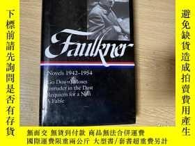 二手書博民逛書店(新書包塑封)Faulkner:罕見Go Down,Moses,Intruder in the Dust,Requ