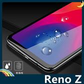 OPPO Reno Z 全屏弧面滿版鋼化膜 3D曲面玻璃貼 高清原色 防刮耐磨 防爆抗汙 螢幕保護貼 歐珀
