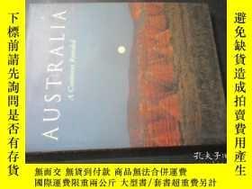 二手書博民逛書店AUSTRALIA罕見A Continent Revealed【
