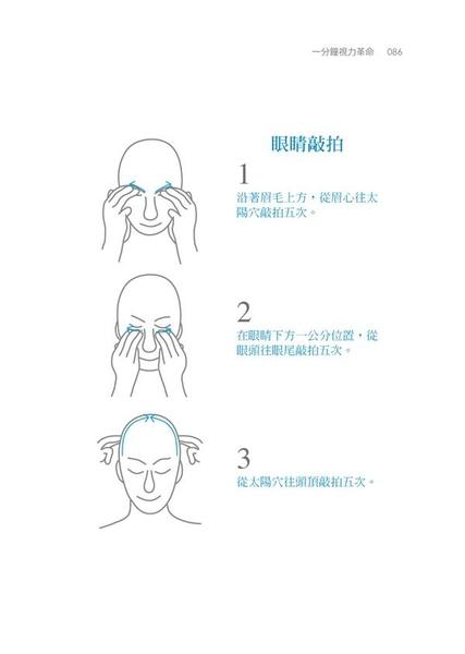 (二手書)一分鐘視力革命:七招提升含氧量,近視、老花眼、乾眼症、飛蚊症、散光、斜視..