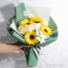 向日葵仿真花束太陽花畢業拍照手捧花香皂花送閨蜜女友生日禮物花