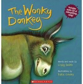 【英文繪本+CD】THE WONKY DONKEY《主題: 自我認同》