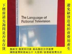 二手書博民逛書店The罕見Language of Fictional Telev
