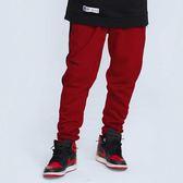 華麗舞台棉褲 VELVET BOLD SWEATPANTS 黑色/深紅色 兩色