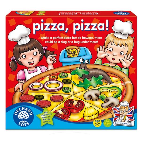 【英國 Orchard Toys】兒童桌遊-色彩遊戲 PIZZA PIZZA! OT-060