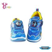 TOBOT機器戰士兒童慢跑鞋 男童運動鞋 LED電燈鞋 MIT台灣製 G8165#藍色◆OSOME奧森鞋業