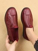 媽媽鞋防滑軟底春秋新款牛筋底老年人奶奶鞋老太太鞋老北京布鞋女 智慧e家