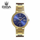 法國 BIBA 碧寶錶 永恆光影系列 藍寶石玻璃 石英錶 B120S304D 金色 - 38mm