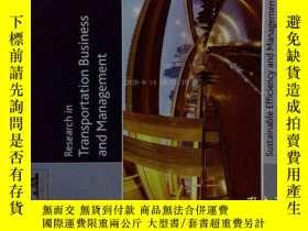 二手書博民逛書店Research罕見in Transportation Business & Management (Journa
