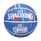 SPALDING NBA隊徽-快艇 #7籃球(室外 7號球 運動 斯伯丁 免運 ≡排汗專家≡