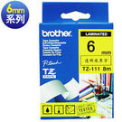 brother TZ-TAPE 護貝標籤帶系列 【 6 mm 】