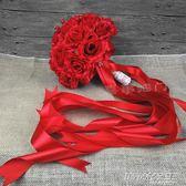 交換禮物 聖誕 婚禮新娘結婚創意手工紅色中式韓式花束影樓拍攝道具  時尚教主