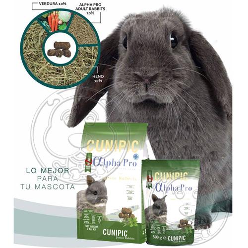 【培菓平價寵物網】西班牙CUNIPIC》Alpha Pro頂級無穀兔飼料-1.75kg/2kg