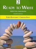 二手書博民逛書店 《Ready to Write 2: Perfecting Paragraphs》 R2Y ISBN:0131363328│Allyn & Bacon