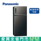 Panasonic國際579L雙門變頻冰箱NR-B589TV-A含配送到府+標準安裝  【愛買】