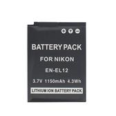 For 相機鋰電池 【ENEL12】 NIKON EN-EL12 S610 / S710 1050mAh 新風尚潮流