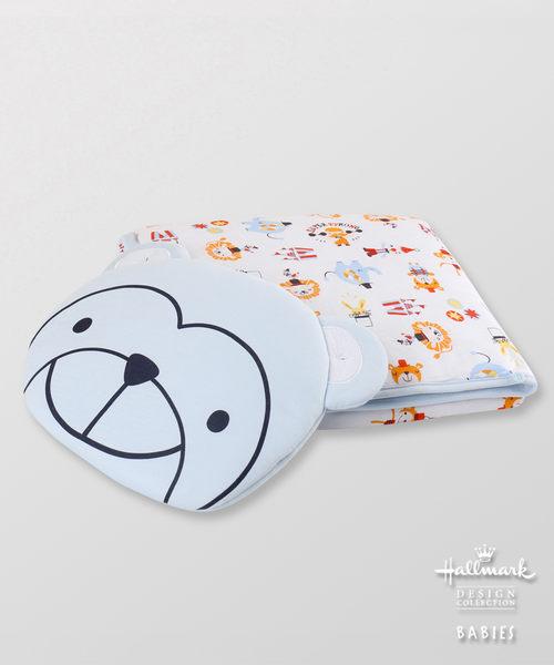 Hallmark Babies 竹系列小猴造型枕頭夾棉被子套裝 HG1-E77-L2-LB-MB
