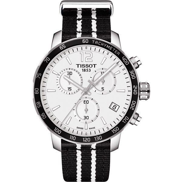 點燃籃球魂 TISSOT 天梭 X NBA :聖安東尼奧馬刺隊特別版手錶-42mm T0954171703707