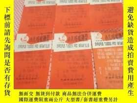 二手書博民逛書店罕見小兒咳嗽糖漿註冊商標(6張合售)Y284389