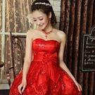 結婚禮服 婚紗-創意奢華甜美新娘伴娘晚宴...