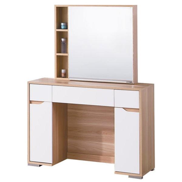化妝台 鏡台 TV-101-9 艾莎北歐3.3尺鏡台(含椅)【大眾家居舘】