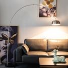 北歐現代簡約護眼遙控客廳沙發臥室書房創意藝術麻將釣魚燈落地燈 夢幻小鎮