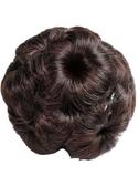 花苞頭假髮飾丸子頭發夾九朵花抓夾仿真假髮包盤頭發的飾品盤發器 海港城
