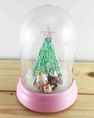 【震撼精品百貨】聖誕節佈置商品-聖誕發亮擺飾-飾品/擺飾-蜜糖邦尼圖案