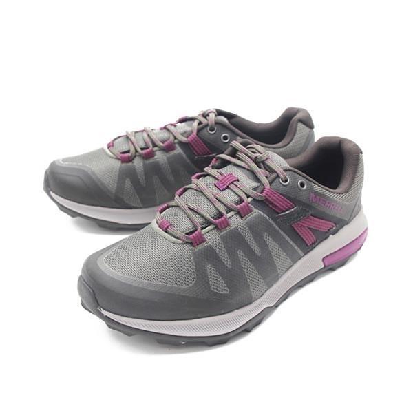 【南紡購物中心】MERRELL(女)ZION FST WATERPROOF郊山健行鞋-橄綠紫(另有灰藍)