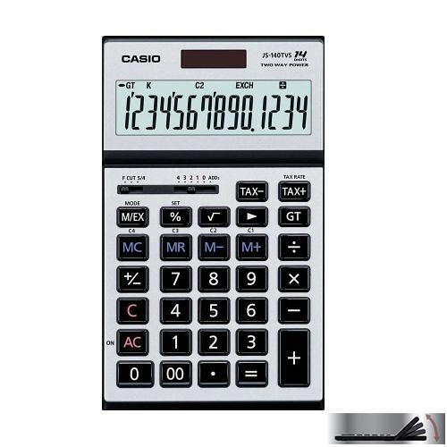 【破盤價】CASIO 卡西歐 JS-140TVS-SR 商用14位元計算機 / 台