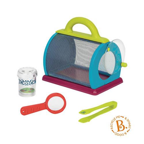 【奇買親子購物網】美國 B.Toys 柏格生態箱