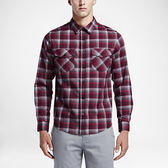 Hurley DRI-FIT ROWEN LONG SLEEVE SHIRT-襯衫-男(格紋紅)