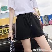 運動短褲女夏寬鬆年新款純棉跑步ins潮休閒學生bf外穿熱褲薄 檸檬衣舍