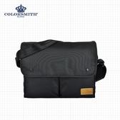 【COLORSMITH】BR.雙口袋側背包.BR1072-BK