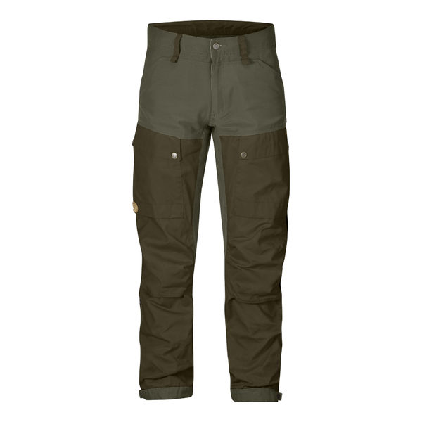 Fjallraven Keb Trousers G1000 彈性長褲 男 暗棕綠