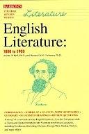 二手書博民逛書店《English Literature: 1800 to 1900》 R2Y ISBN:0812016785