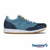 SAUCONY JAZZ O DENIM 經典復古鞋款-深藍X中藍
