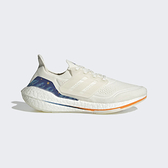 Adidas Ultraboost 21 [GX8532] 男 慢跑鞋 運動 休閒 輕量 支撐 緩衝 彈力 愛迪達 白