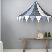 兒童房免安裝蚊帳吊頂公主家用半月帳篷嬰兒床蓬寶寶游戲屋讀書角
