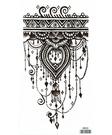 薇嘉雅   小環臂圖案紋身貼紙 HB005