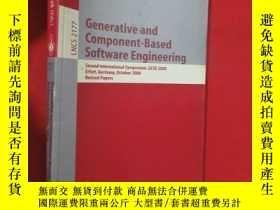 二手書博民逛書店Generative罕見and Component-Based Software En... (小16開 ) 【詳