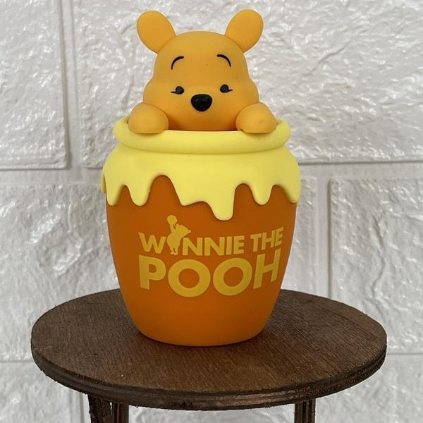 迪士尼 維尼 藍牙喇叭 藍芽喇叭 正版 創意生日禮物 小時候創意屋 玩具 小熊維尼 蜂蜜罐 娃娃