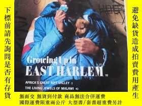 二手書博民逛書店罕見NATIONAL GEOGRAPHIC Growing Up in EASTHARLEM1990 5英文原版(