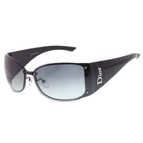 Christian Dior時尚太陽眼鏡 (黑色) (無附盒)