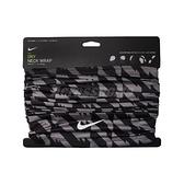 Nike 頸套 Running Dry Neck Wrap 黑 男女款 圍脖 跑步 【ACS】 N000358794-6OS