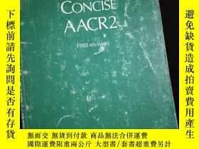 二手書博民逛書店THE罕見CONCISE AACR2 (1988 revision)Y16149