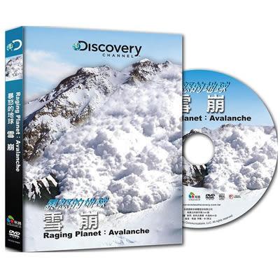Discovery-暴怒的地球:雪崩DVD