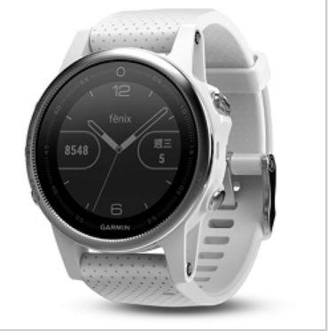 [富廉網] 【GARMIN】 fenix 5S 輕量美型款 白/黑/粉/藍 產品料號 010-01685-31