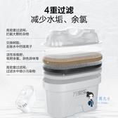 過濾水壺 凈水壺過濾水壺凈水器家用直飲自來水過濾器濾水杯T