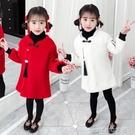 漢服女童拜年服冬裝中國風新年童裝兒童唐裝仿水貂絨旗袍裙中大童 ciyo 黛雅